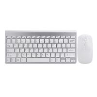 无线键盘鼠标套装小型 超薄笔记本外接家用电脑 迷你无线键鼠
