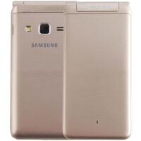 【三星手机旗舰店】Galaxy Folder G1600 移动联通电信4G全网通双卡翻盖手机 3.8英寸 800万像素+500万像