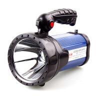 强光LED手电筒远射探照灯氙气可充电打猎手电手提灯