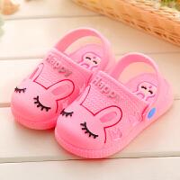 2018新款儿童凉拖鞋宝宝学步鞋男童女童后跟凉鞋两穿鞋子宝宝鞋