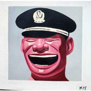 当代主义油画作品30 X 30CM  H15