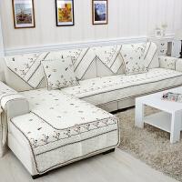 【支持礼品卡支付】 沙发垫 纯棉四季订做定制沙发布沙发罩全盖沙发床套欧式现代老式折叠三人防滑床笠式无扶手沙发盖简易蜻蜓