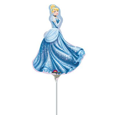 孩派anagram气球公主 奇妙仙子 灰姑娘 美人鱼 长发公主铝箔气球