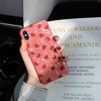 网红同款8plus手机壳苹果x硅胶xsmax全包iphone7防摔6s/xr可爱女 6/6s 4.7寸