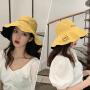双面渔夫帽女遮脸韩版防晒紫外线遮阳帽子大沿潮百搭夏季薄款时尚