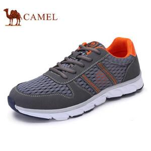 骆驼牌男鞋 新品时尚休闲透气网面鞋低帮运动休闲男鞋