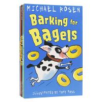 Michael Rosen 爷爷之创意搞笑故事集 全6册套装 儿童章节书 《我们去猎熊》作者的又一力作 感悟式阅读 儿
