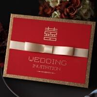 请帖结婚创意2018欧式个性婚宴喜帖照片定制婚礼请柬