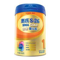 惠氏S-26旗舰版金装爱儿乐婴幼儿配方奶粉1段900克