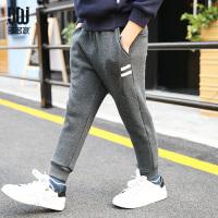 运动裤冬装中大童儿童休闲裤子