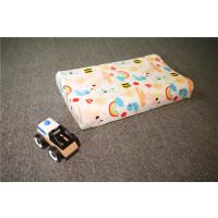 20191107021927291卡通儿童乳胶枕芯幼儿园学生枕护颈枕头