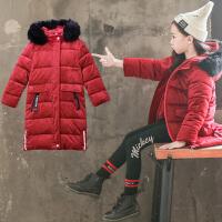 童装冬装女童棉衣儿童棉袄洋气外套大童女孩