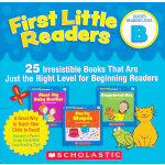First Little Readers Parent Pack: Guided Reading Level B 小读者系列家长指导阅读套装Level B ISBN9780545231503