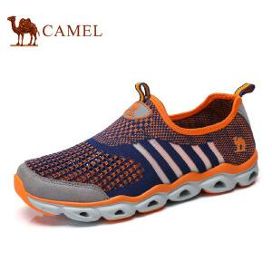 camel骆驼户外鞋  春季新品 透气户外网鞋情侣款休闲鞋男女朔溪鞋徒步鞋