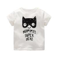 婴儿短袖T恤男女宝宝夏装半袖夏季童装宝宝上衣打底衫婴儿1岁3女2