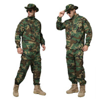 户外 丛林迷彩服套装男作训服 特种兵作战服军迷装备服饰