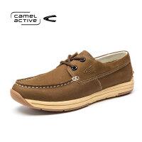 德国Camel Active/骆驼动感男士百搭休闲鞋摇摇底低帮潮流单鞋