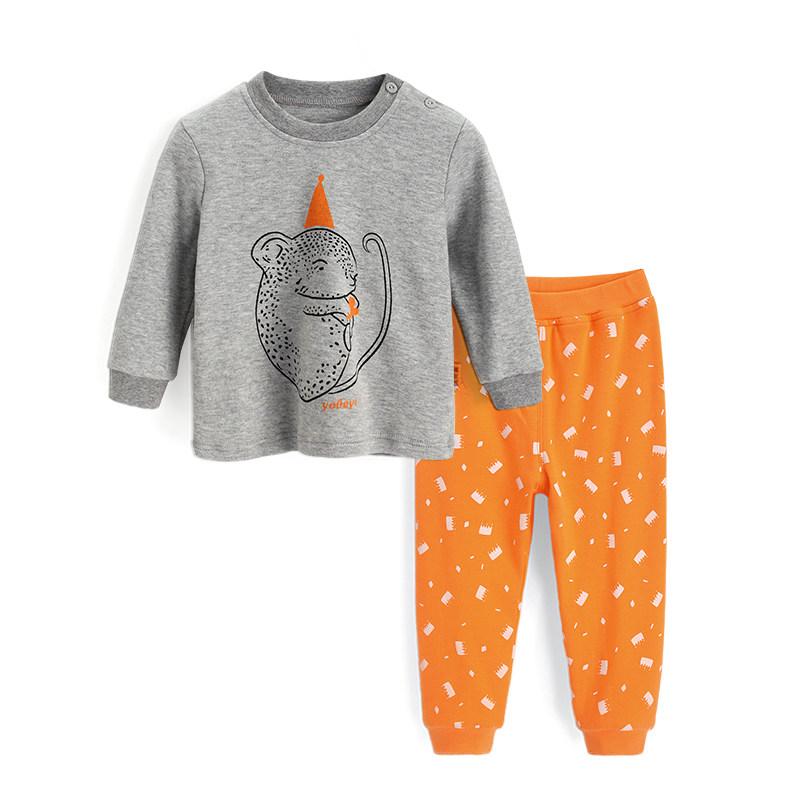 儿童内衣套装纯棉春秋 宝宝春装男童睡衣女童秋衣婴儿衣服 发货周期:一般在付款后2-90天左右发货,具体发货时间请以与客服协商的时间为准