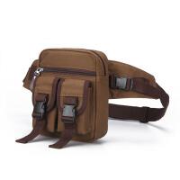 男士腰包带水壶户外多功能斜挎包夏季运动手机包工具挎包