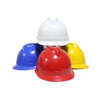 桉叶(Anye)ABS安全帽 AY9805A 工地 工程 工业 建筑 抗冲击 蓝色 防砸 透气型 1顶 (企业可定制)