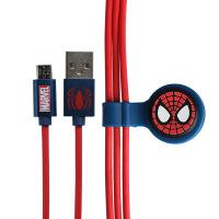 Disney迪士尼复仇者联盟3蜘蛛侠苹果数据线小米安卓充电线iphone8手机充电器线