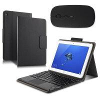 【送钢化膜】荣耀Waterplay 10.1寸平板无线蓝牙键盘保护套HDN-W09/L09电脑皮套外