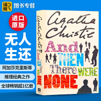 And Then There Were None无人生还 英文原版小说 阿加莎克里斯蒂Agatha Christie 侦