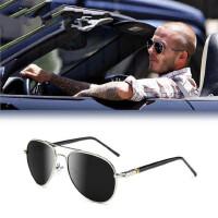 男士太阳镜潮人墨镜 开车偏光蛤蟆镜 司机驾驶镜太阳眼镜