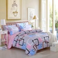 学生床上用品磨毛床单双人四件套批发三件套 2.0床 四件套