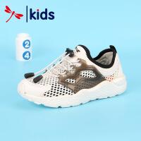 红蜻蜓春夏新款童鞋男童时尚百搭透气网面防滑跑步儿童运动鞋