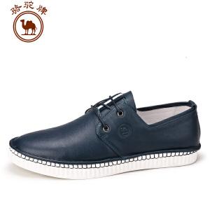 骆驼牌男鞋 春夏季新品 手工缝制日常休闲鞋子男士韩版男鞋