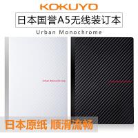 进口日本国誉无线装订本3D都市印象A5笔记本50页商务办公记事本