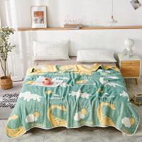 六层纱布毛巾被纯棉单人双人午睡被子夏凉被儿童婴儿午睡小毯盖毯