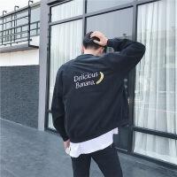 秋冬夹克夹克衫韩版大码男士青春流行秋季上衣外穿长袖外套潮男装