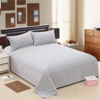 御目 床单 单人老粗布被单斜纹加大加厚1.5米1.2米2.0米折叠式床上三件套满额减限时抢礼品卡床上用品