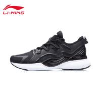 李宁跑步鞋男鞋官方2021新款男士跑鞋黑色回弹轻便鞋子低帮运动鞋