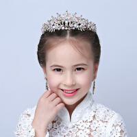 儿童头饰粉色皇冠女童公主皇冠婚纱配饰花童皇冠发饰