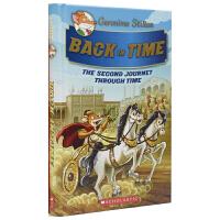 Geronimo Stilton Back In Time 老鼠记者穿越时空系列 #2 英文桥梁书 回到过去 儿童青少