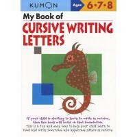 【预订】My Book of Cursive Writing Letters, Ages 6-8