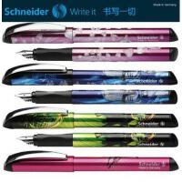 施耐德Schneider Glam美丽系列 立体浮雕笔杆 书写钢笔 潮人0.5mm