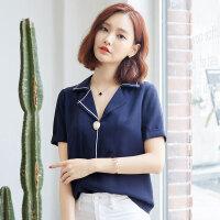 2017新款短袖t恤女夏装韩版半袖女装上衣修身显瘦纯色小衫潮