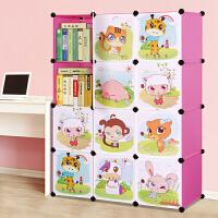 林仕屋书柜书架自由组合玩具收纳柜简易储物置物架柜子