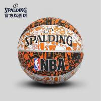 斯伯丁篮球官方正品耐磨室外nba7号水泥地比赛专用非真皮牛皮73-722Y