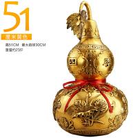 纯铜葫芦摆件家居装饰品摆设客厅中式工艺品招财风水摆件SN0707