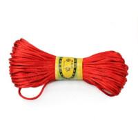 红绳 中国结制作绳子 玉坠/挂件红线 红绳编织手链/项链 一捆约20米 六捆价钱