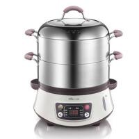 家用不锈钢电蒸锅 大容量 预约 多功能电蒸笼
