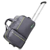 旅行包手提拉杆包女20寸行李包可折叠拉杆箱男牛津布行李箱