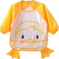 御目 儿童画画衣 宝宝防水饭衣半包标准码造型罩衣0-3岁可穿外套婴儿魔术粘罩衫围兜围裙家居用品