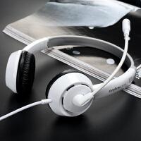 头戴式耳机电脑手机台式带麦克风游戏可接听电话K歌录音吃鸡专用