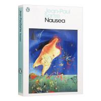 Nausea 恶心 英文原版小说 让保罗萨特 存在与自由 自我意识 法国存在主义哲学创始人 Jean-Paul Sart